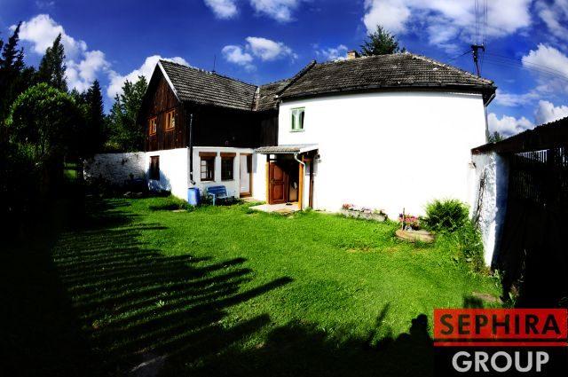 Prodej rodinného domu 4+1 o ploše 200 m2, Čeřín-Jistebník, Rožmitál na Šumavě, pozemek 1381 m2