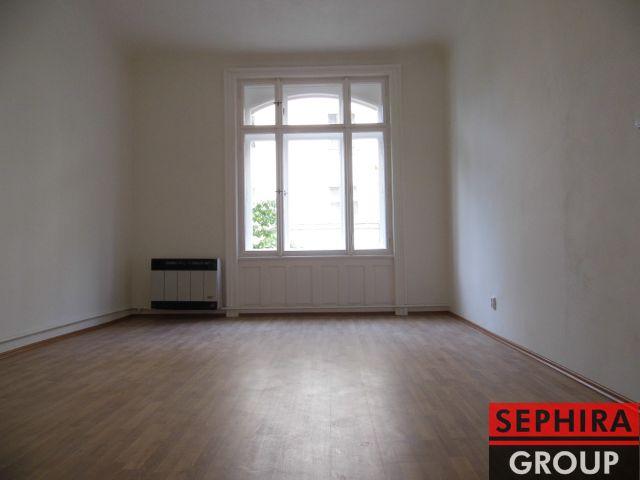 Pronájem bytu 1+1, P2, Vinohrady, Chodská ul., 46 m2, nezařízeno, ihned volné