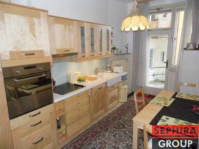 Prodej bytu 2+1 se 2 balkóny, P10, Vršovice, Bulharská ul., 90 m2, OV, po část. rekonstrukci, ihned volné