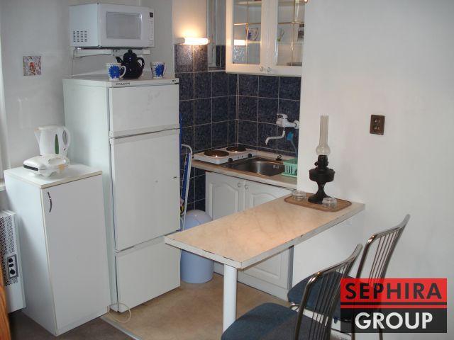 Pronájem bytu 1+KK, P4, Michle, Pelhřimovská ul., 30 m2, zařízeno, ihned volné