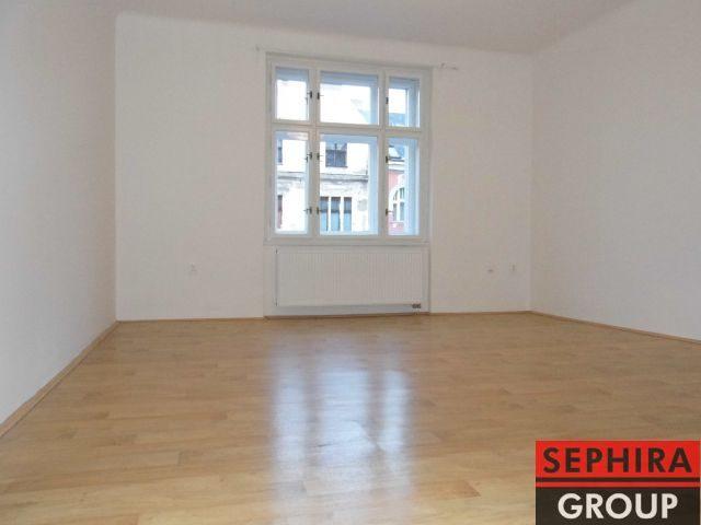 Pronájem bytu 3+1, P2, Nové Město, Ječná ul., 100 m2, nezařízeno, ihned volné