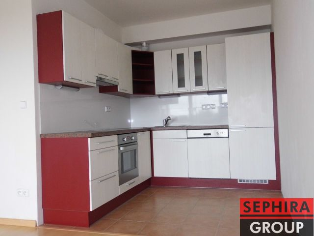 Pronájem bytu 2+KK s lodžií a garáží, P10, Kolovraty, Za Podjezdem, 64 m2, novostavba, nezařízeno