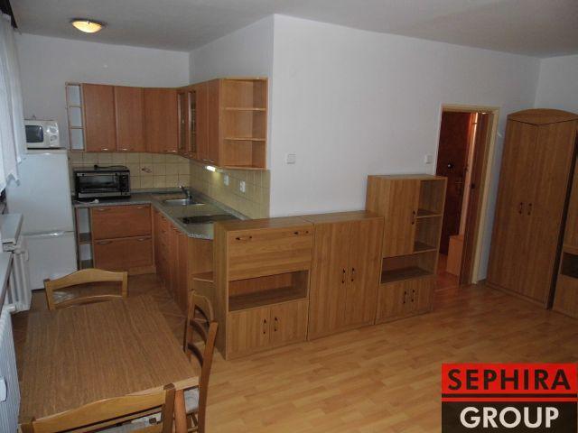 Pronájem bytu 1+KK s lodžií, P4, Chodov, Michnova ul., 37 m2, zařízeno, po rekonstrukci, ihned volné