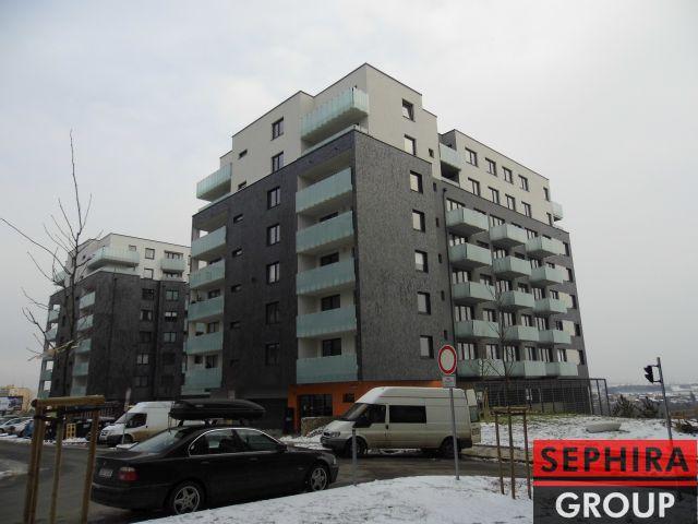 Pronájem bytu 2+KK s lodžií a garáží, P5, Stodůlky, Klementova ul., 69 m2, nezařízeno, ihned volné