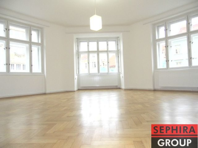 Pronájem bytu 2+1, P2, Nové Město, Ječná ul., 101 m2, nezařízeno, ihned volné