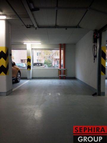 Pronájem garážového stání, P9, Letňany, Tupolevova ul., 15 m2, ihned volné